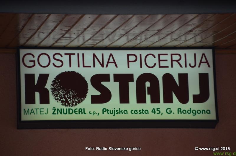 FOTO: Vandranje - Gostilna, picerija in pivovarna Kostanj