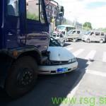 Huda prometna nesreča v Zavrču