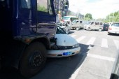 Hujša prometna nesreča v Mariboru