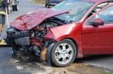 Huda prometna nesreča v kateri je bila poškodovana 64 letnica