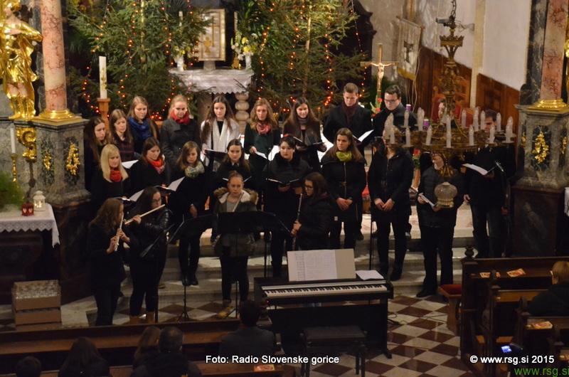 FOTO: Božični koncert v cerkvi Sv. Lenarta