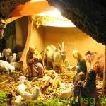 V Cerkvenjaku božične jaslice na prostem