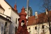 V Sveti Trojici odpeljali prvi zvonik na tamkajšnji cerkvi