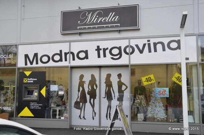 FOTO: Vandranje - Modna trgovina Mirella