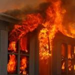Požar v Lovrencu na Pohorju in v Žikarcah