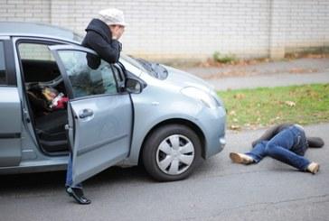 V nesreči pri Šentilju umrl pešec, voznik pobegnil