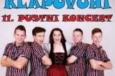11. Pustni koncert Klapovühov