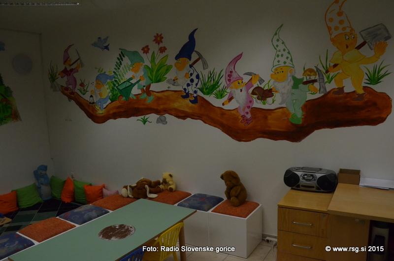 Tematsko obarvane srede za otroke v knjižnici Lenart