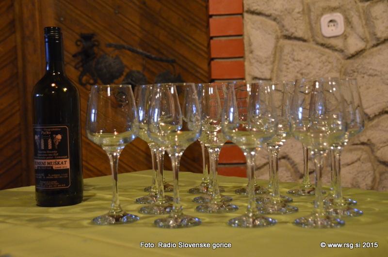 FOTO: Vandranje - Vinogradništvo in vinotoč Pučko