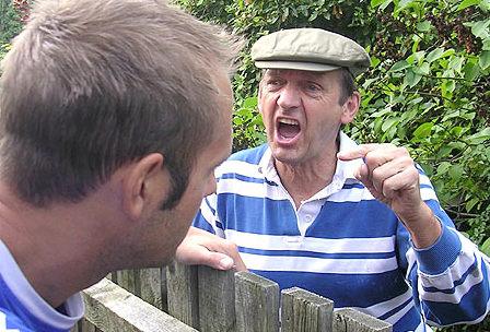 Med prazniki sosedi žalili drug drugega - nekateri tudi obračunali med sabo