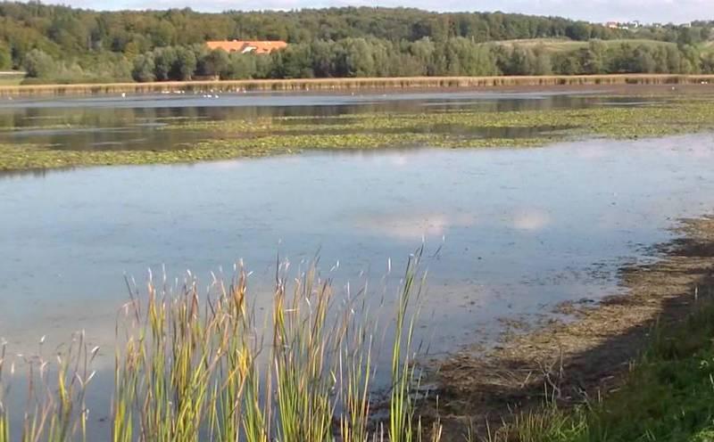 Sanacijska dela na iztoku jezera Komarnik
