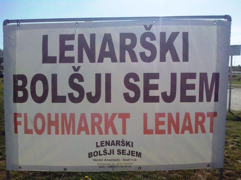 Tretja obletnica Lenarškega bolšjega sejma
