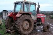 Tehnični pregledi traktorjev na terenu
