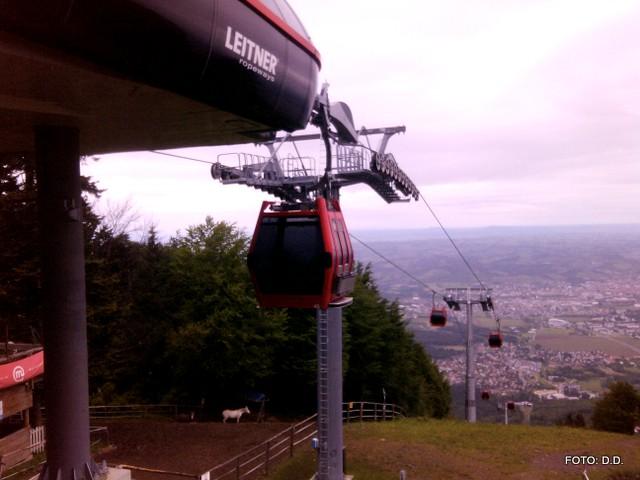 FOTO: Pohorska vzpenjača bo prihodnji konec tedna znova obratovala