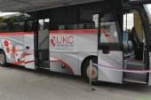 V Šentilju predstavitev in blagoslov avtobusa za odvzem krvi na terenu