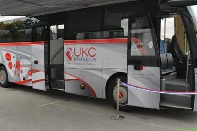 Prva vožnja krvodajalskega avtobusa