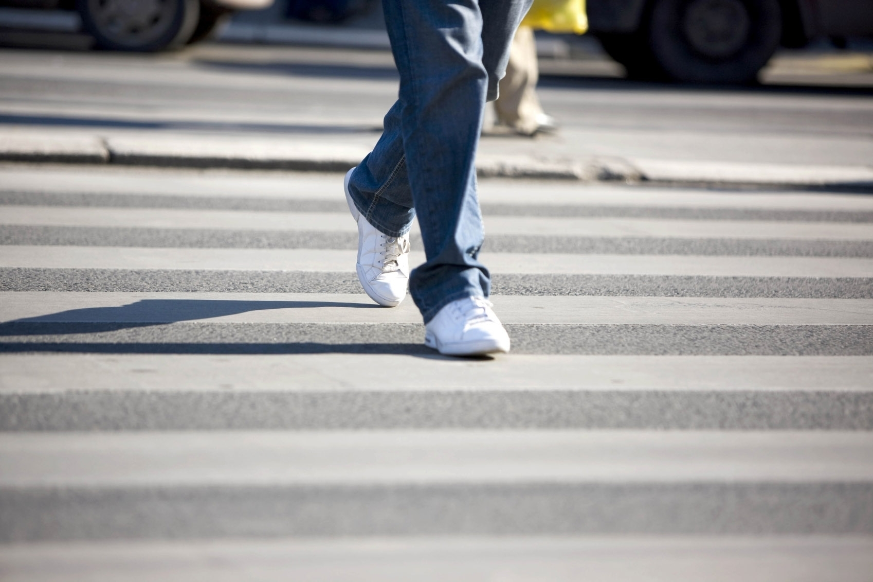 Pešci slabo skrbijo za svojo varnost v prometu