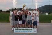KMN iz Lomanoš pri Gornji Radgoni državni prvaki v rekreativnem malem nogometu