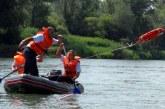 32. tekmovanje gasilsko reševalnih čolnov v Dvorjanah
