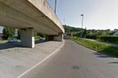 Stekla so dela na hitri cesti skozi Maribor