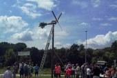 Dvig klopotca v Lenartu ob Poleni in spoznavanje domačih krajev
