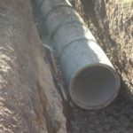 V Apačah gradnja kanalizacijskega omrežja