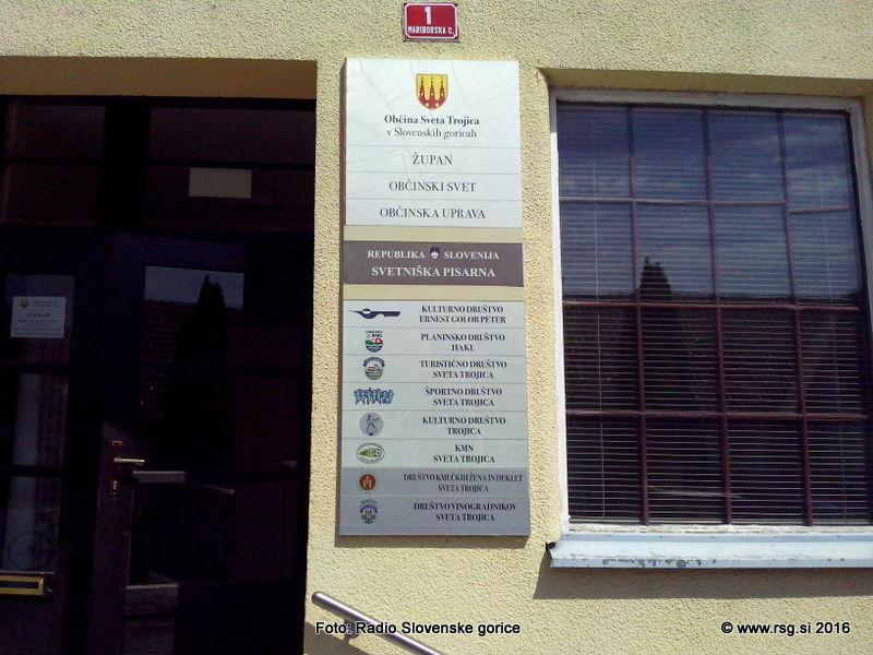 Delegacija državnega sveta na obisku v Sv. Trojici