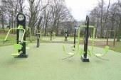 Fitnes na prostem v Magdalenskem parku