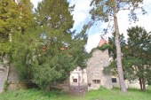 Na gradu Borl poteka obljubljena sanacija strehe