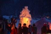 Konec tedna v Črni na Koroškem zimska pravljica Gradovi kralja Matjaža
