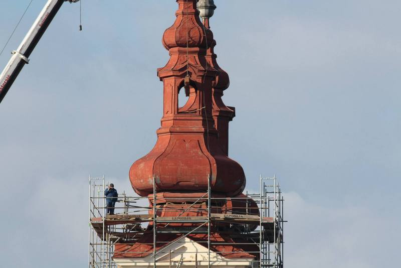 Trije zvoniki cerkve Sv. Trojice dočakali obnovo