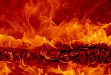 Zagorela betonarna na Sv. Ani