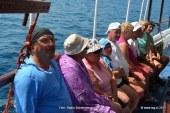 FOTO: Po Korčulanskem kanalu gor in dol, pa med otoki na ribice