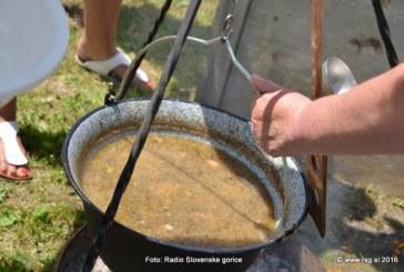 10. državno tekmovanje v kuhanju kisle župe v Jakobu
