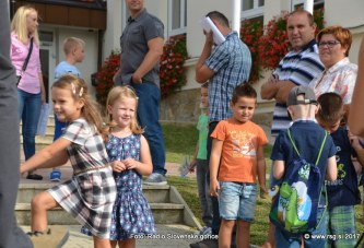 FOTO/VIDEO: Začetek novega šolskega leta 2017/2018 v Voličini