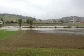 VIDEO: Obilne padavine povzročale težave tudi v Slovenskih goricah