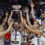 Na včerajšnji tekmi Evropskega prvenstva v košarki tudi številni navijači iz Slovenskih goric