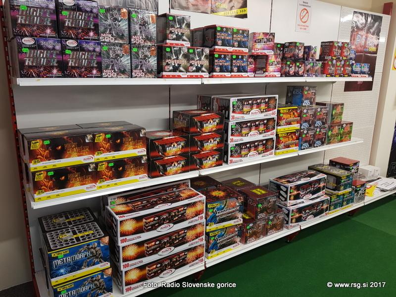 Od 19. decembra dovoljena prodaja pirotehničnih izdelkov, uporaba pa šele od 26. decembra