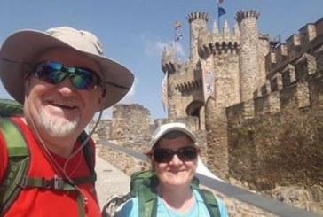 Zakonca Siter danes v Lenartu o romanju po Jakobovi poti v Španiji