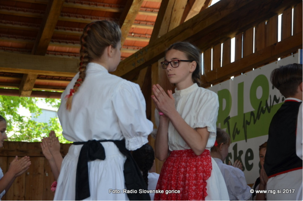 Srečanje folklornih in otroških gledaliških ljubiteljskih skupin
