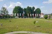 V Mestnem parku dr. Jožeta Pučnika odkritje pomnika braniteljem Slovenije v osamosvojitveni vojni