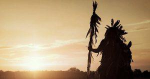 Indijanski tabor v Oseku