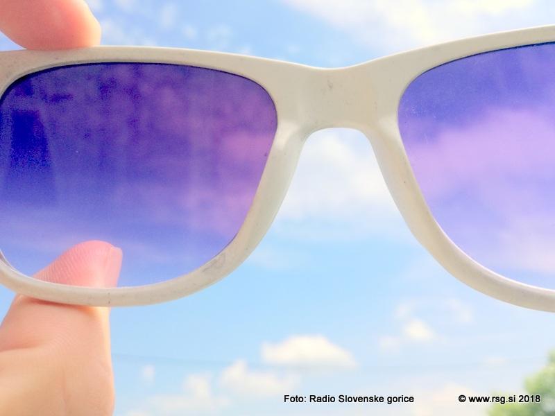Nikar ne pozabite na zaščito oči s sončnimi očali