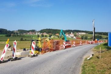 Na območju občine Sv. Jurij v Slovenskih goricah tačas sanirajo dva plazova