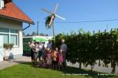 FOTO/VIDEO: Na današnji postavitvi radijskega klopotca tudi najmlajši z lenarškega vrtca