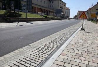 FOTO: V Lenartu počasi zaključujejo z deli v občinskem središču, obenem pa si prizadevajo za izgradnjo severne obvoznice