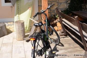 Z e-kolesom po Slovenskih goricah
