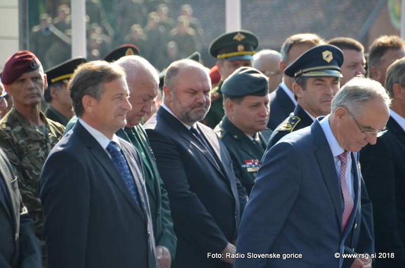 Erjavec na SOBRI: Slovenske varnostne sile vredne spoštovanja