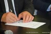 V Občini Sv. Andraž v Slovenskih goricah podpis najpomembnejše pogodbe tega mandata