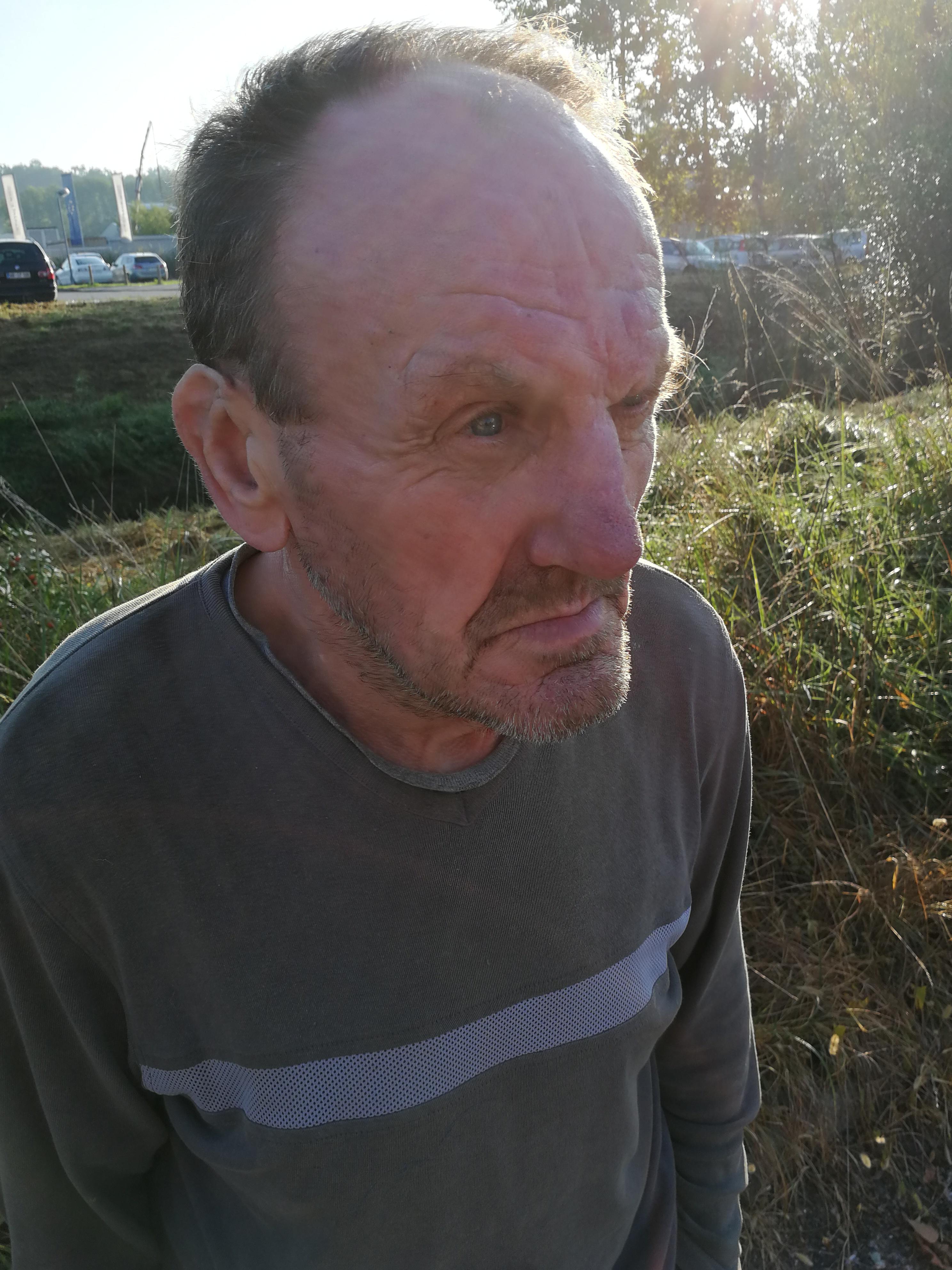V Slovenski Bistrici našli starejšega moškega, ki ne zna povedati ničesar o sebi